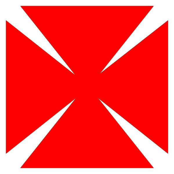 cruz de Malta adaptada